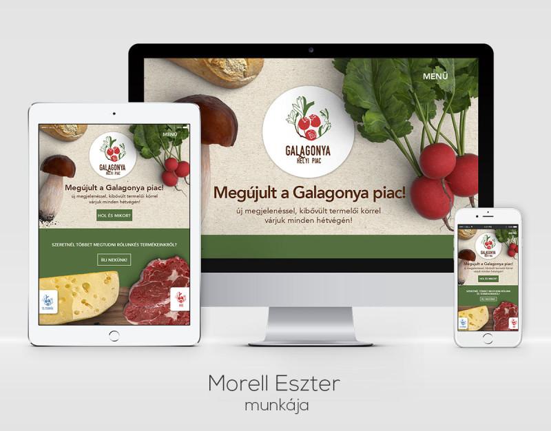 Morell Eszter webdesigner munkája